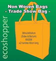 x 100 Non Woven Trade Show Orange