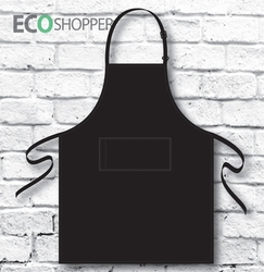Full-Bib Apron Black P,AN