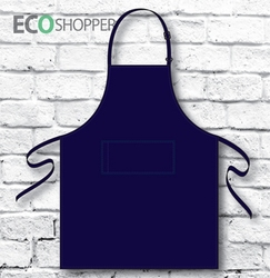 Full-Bib Apron Navy P AN