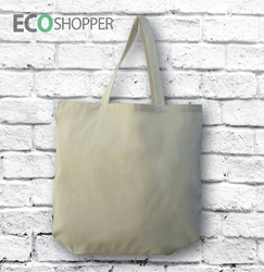 Blank Calico Shopping Bag - Shopper 50cm Handles