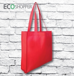 x 100 Non Woven Trade Show Bags - Red