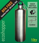 Stainless Steel Bottle 1 LTR