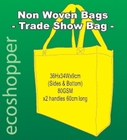 x 100 Non Woven Trade Show Yellow