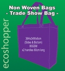x 100 Non Woven Trade Show Purple