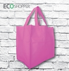 x 100 Non Woven Shopping Bags - Hot Pink