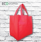 x 100 Non Woven Shopping Bags - Red