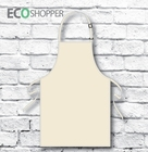 Full Bib Kid's Apron Natural Calico